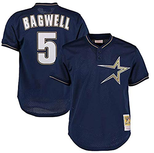 - Mitchell & Ness Jeff Bagwell 1997 Authentic Mesh BP Jersey Houston Astros
