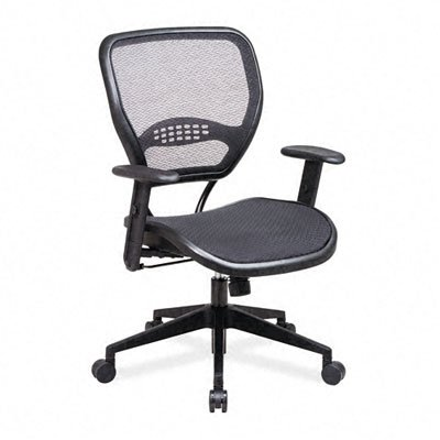 Grid Air Chair Fabric - Deluxe Task Chair with Air Grid Seat and Back PNo: 5560