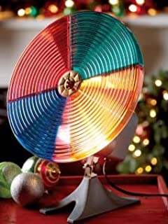vcs rotating color wheel works great for silver aluminum christmas trees - Rotating Color Wheel For Christmas Tree