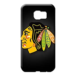samsung galaxy s6 edge Eco Package Slim Fit Protective Beautiful Piece Of Nature Cases cell phone carrying covers chicago blackhawks