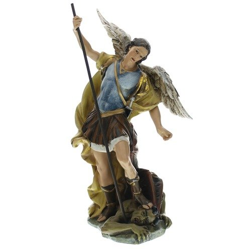 - Renaissance Collection Joseph's Studio by Roman Exclusive St. Michael The Archangel Defeating Satan Figurine, 7.25-Inch