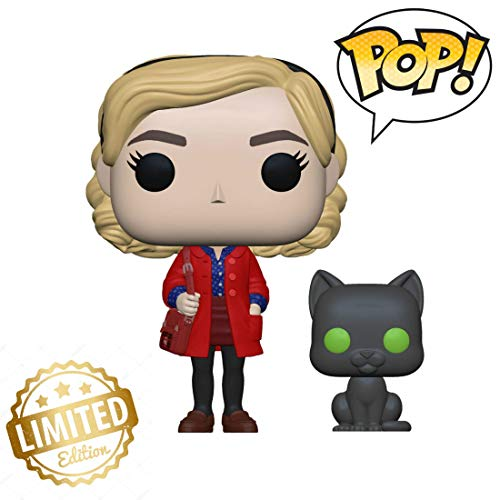 38866 Pop! & Buddy: Chilling Adventuressabrina with Salem, Multicolor Limited Edition