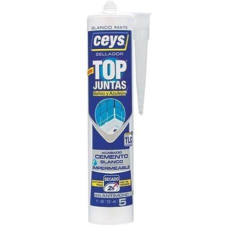Ceys CE505611 Top Juntas BAÑOS Y Azulejos 290ML: Amazon.es: Bricolaje y herramientas