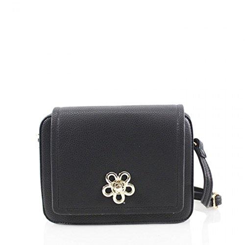 LeahWard Women's Cross Body Handbags Messenger One Shoulder Bags 2142 Black Flower