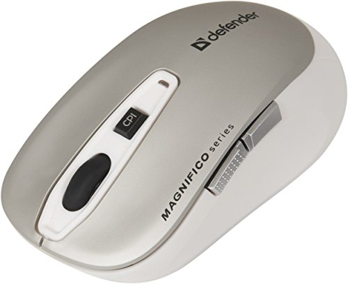 Defender Wireless Ir-Laser Mouse Magnifico MB-535 Grey 6 Buttons 1000-2000 dpi