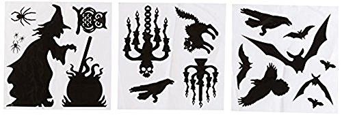 Halloween Silhouette DEcor Kit -