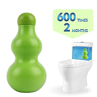 Pure-Eco Automatic Toilet Bowl Cleaner New Generation-600 Times Flushes (Green, 1-Pack)