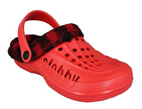 buyAzzo Women's Clogs Red vKmkQQ