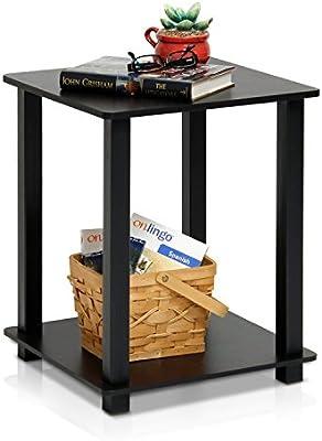 Amazon.com: Mesa auxiliar simplista Furinno, Madera ...