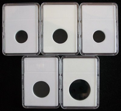 5 Cent Nickel - Slab Coin Holders Set by BCW 5 Each CENT, NICKEL, DIME, QUARTER, HALF DOLLAR by BCW
