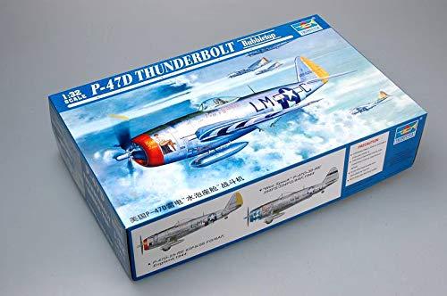 (Trumpeter 1/32 P47D Thunderbolt Bubbletop Fighter Model Kit)
