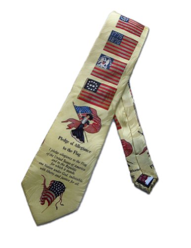 museum-artifacts-mens-patriotic-pledge-of-allegiance-flag-necktie-tie-neckwear