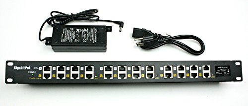 WS-GPOE-12-48v60w gigabit passive 12 Port Power over Ethernet Injector POE with 48 volt 60 watt for 802.3af devices by WiFi-Texas (Image #8)