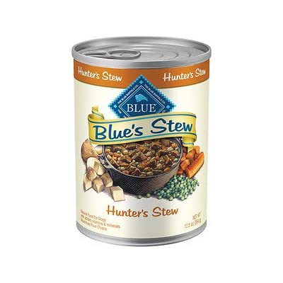Blue Buffalo Blue's Hunter's Stew Canned Dog Food, 12.5-oz, case of 12