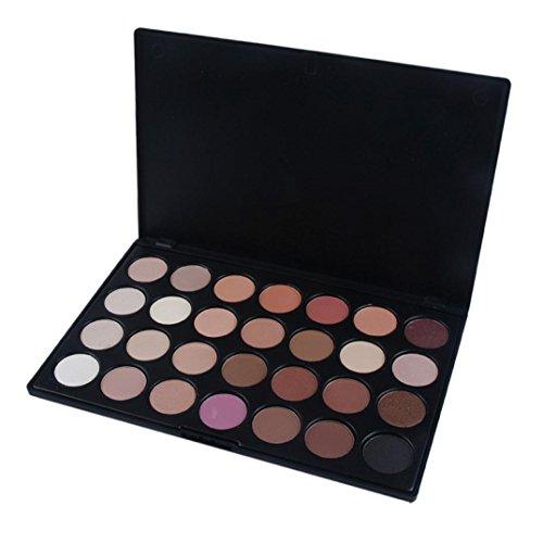 Pro 28 Color Neutral Warm Eyeshadow Palette Matte Nudes Eye