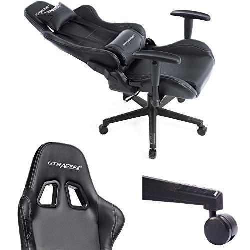 Gtracing Gaming Chair Racing Chair Pu Leather Ergonomic