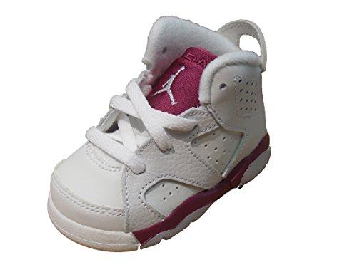brand new 3c8df af60e Jordan Retro 6-Toddler-Maroon 6-384667-116 (10C) - Buy ...