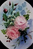 Floral How-to Painting Packet Oval Pink Roses can be painted on an 16 x 20 canvas. This also includes full directions, color photo, pattern, and a sheet of graphite paper to transfer your pattern to your canvas. If you've ever wanted to paint a beaut...
