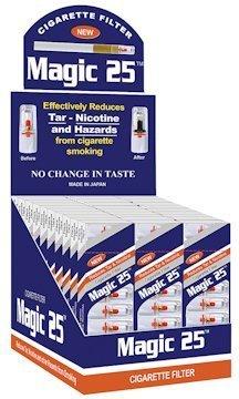 Magic 25 30 Packs (300pcs) Cigarette Filters by Magic 25