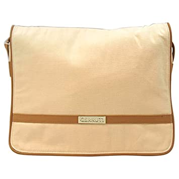 13cec28b243 Image Unavailable. Image not available for. Color: Nino Cerruti 'Cerruti' Cream  Canvas Handbag