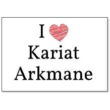 I Love Kariat Arkmane, fridge magnet (design 2)