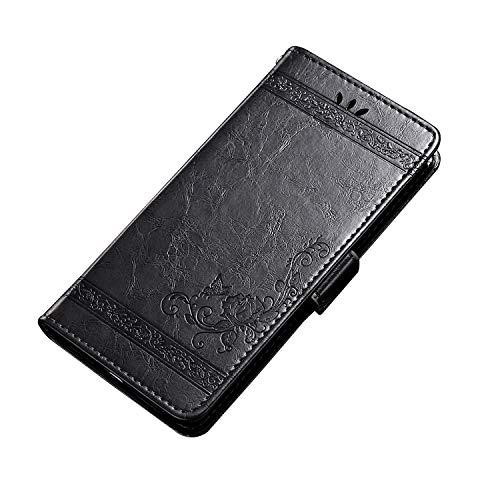 CiCiCat UMIDIGI S3 PRO Case Cover, Slim Light Flip Shell Case, Stylish Premium Stand Soft Protective Case, Fashion Designs Cover Case for UMIDIGI S3 PRO Smartphone (Gray, 6.3'') ()