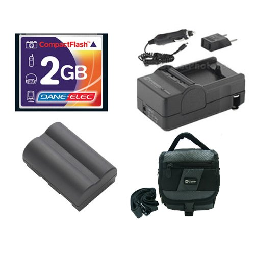 (Canon Powershot G2 Digital Camera Accessory Kit includes: SDBP511 Battery, T44654 Memory Card, SDM-116 Charger, SDC-27 Case)