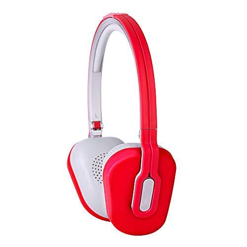 Altec MZX662 Fone de Ouvido Dobrável, cor vermelha