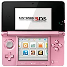 Nintendo 3DS Pearl Pink - Nintendo 3DS