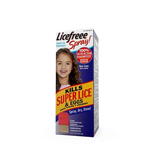 LiceFreee! Lice Killing Hair Spray 6 oz (Pack of 6) by Lice Free