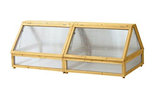 VegTrug VTCFMN 0580 Cold Frame, 1.8m, Brown(Wood)