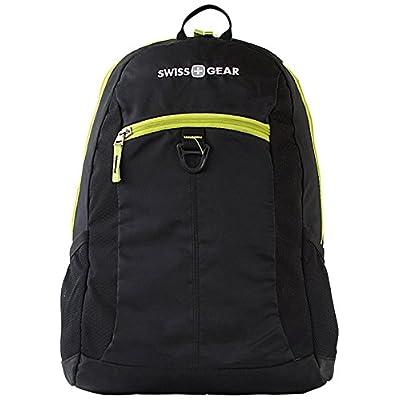 """SwissGear (TM)  Student Backpack For 15"""" Laptops, Black/Lime Green SA6716 cheap"""