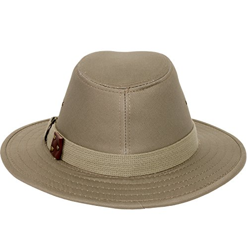 Panama Jack Men s Original Canvas Safari Sun Hat ecd993e3ecc5