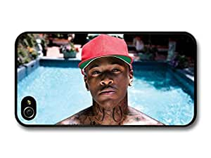 Yg Portrait Photo shoot with Red Cap and Swimming Pool case for iPhone 4 4S