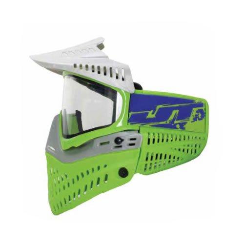 Empire JT Spectra Proflex LE Thermal Goggle - Silver – Green / Green-Purple Racing Strap