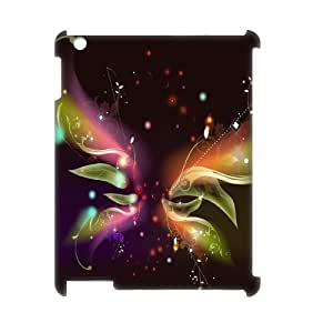 COMEON - Butterfly Pattern 3D Phone Case for iPad 2,3,4