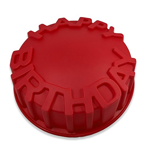 FantasyDay® Stampo in Silicone per Dolci happy Birthday