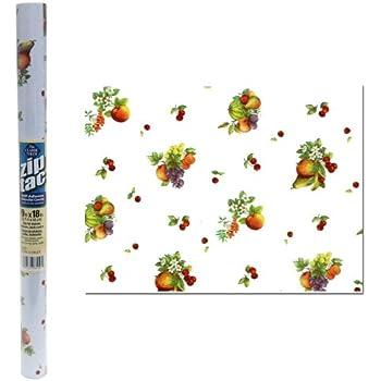 Amazon Com Zip Tac Fancy Fruit Contact Paper 9 Ft X