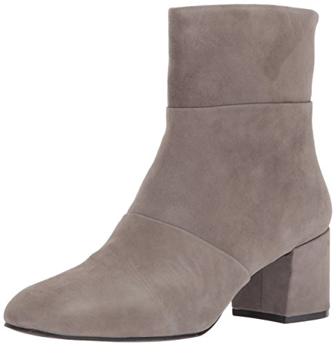 Kenneth Cole New York Women's Eryc Low Block Heel Square Toe Ankle Bootie Grey (Elephant 090)