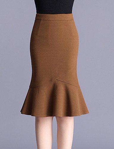 Mayihang Falda de Vestir para Mujer, Talla Grande, Faldas de ...