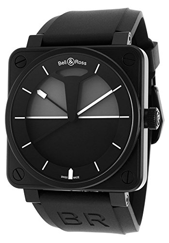 Bell-Ross-Mens-Aviation-Automatic-Black-Rubber-White-Hour-Markers