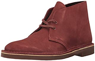 Clarks Men's Bushacre 2 Chukka Boot, Rust Suede, 8 M US (B06WLPKRYW) | Amazon price tracker / tracking, Amazon price history charts, Amazon price watches, Amazon price drop alerts