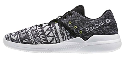 Yell Cardio Sneakers WoMen Black Black Reebok Skull Grey Edge White Low Graphic Hero 7dwqxAHT