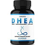 DHEA Extra Strength Designed for Healthy Weight Loss, Youthful Energy Levels, and Promoting Balanced