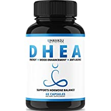 Extra Strength DHEA 50 mg Supplement - Weight Loss & Helps Balance Hormone Levels & Boost Youthful Energy Levels for Men & Women, Increase Metabolism, Immunity & Lean Body Mass, Non-GMO Formula
