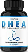 Bring balance to DHEA and Hormone levels* ✓ Boosts energy and metabolism* ✓ Promote a positive mood and healthy libido* ✓ Helps maintain lean muscle mass and tone* DHEA is an essential building block. Balanced levels and production supports a healthy...