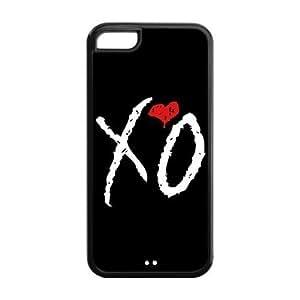 XiFu*Mei5C Phone Cases, XO The Weeknd Hard TPU Rubber Cover Case for ipod touch 5XiFu*Mei