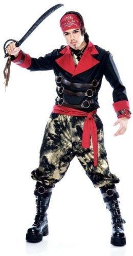 Price comparison product image Paper Magic - Men's Apocalypse Pirate Costume - Medium 42-44