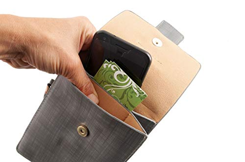 Grey Crossbody pocket Smartphone Multi Bag qwIXnzg8I