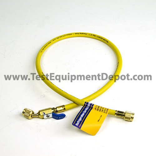 Yellow 36 Fotronic Corporation 36 Yellow Jacket 29003 Plus II 1//4 Hose with Compact Ball Valve